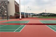丙烯酸篮球场施工建设-塑胶篮球场专业施工