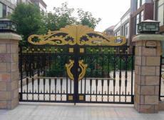 北京延慶區歐式鑄鋁大門定做效果圖