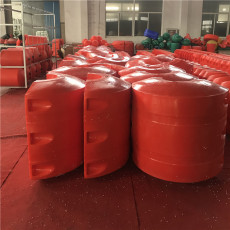 耐磨聚乙烯浮体大管径排泥管道浮筒价格