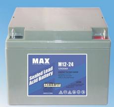 MAX免维护蓄电池M12-50 12V50AH浮充使用