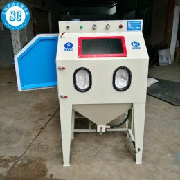 9060手动喷砂机 大发好运快三模具表面处理喷砂机