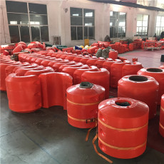 内径12公分管道浮筒防腐塑料浮体厂家