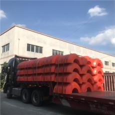 10寸疏浚管浮体12寸pe管塑料浮筒厂商