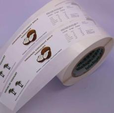 深圳供应不干胶标签印刷彩色酒标贴纸