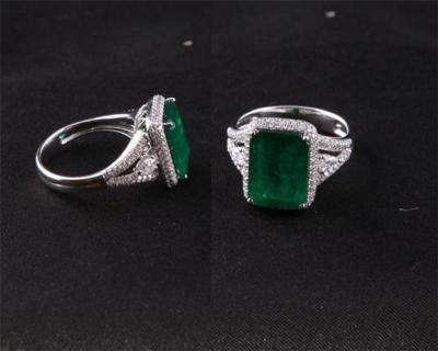 祖母绿戒指的价格哪里卖的贵
