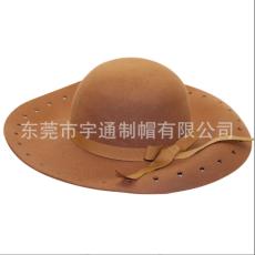 東莞帽子工廠 專業帽子定制 定型帽寬沿帽