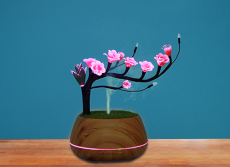 現代風格擺件元特幻寶香氛燈家居飾品