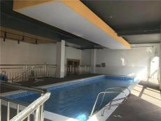 甘肅蘭州室內大型鋼結構游泳池兒童游泳訓練