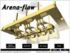 Arena-Flow射砂制芯冷芯盒模拟软件代理商