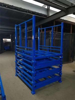 巧固架折叠式布料堆垛货架金属组合轮胎架