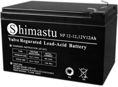 Shimastu鉛酸蓄電池NP80-12 12V80AH報備