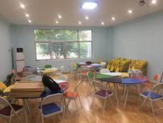 团体活动辅导桌 色彩活动团体桌