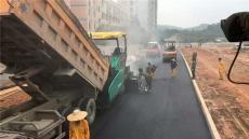深圳永盛沥青路面工程-冷拌沥青混合料施工