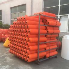 水葫芦拦截装置闸口浮桶式拦污排组装