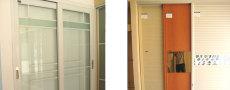 上海楊浦區木門修復及淋浴房維修軌道