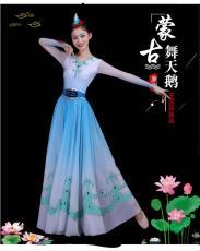 蒙古服裝女天鵝少數民族演出服成人中國風