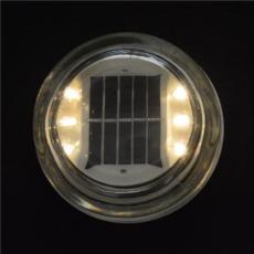 施路达半埋入式太阳能玻璃道钉自发光