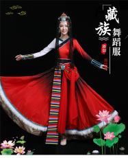 藏族舞蹈服裝少數民族中國風舞臺演出服