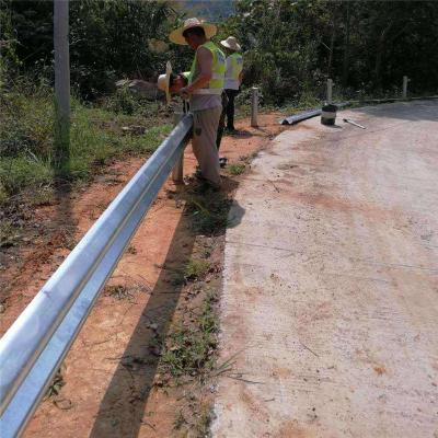 厂家直销 公路防撞设施 高速隔离防撞波形护