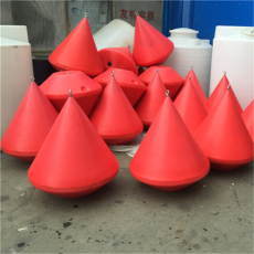 抗8级风浪灯浮标高分子聚乙烯浮标造价