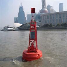 內河圓錐形浮標柱形警示浮標航道導標