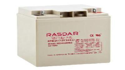天津RASDAR蓄电池6GFM180 12V180AH区域代理