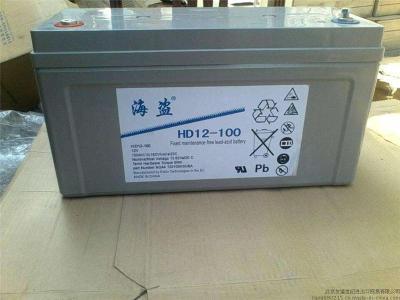 海盗铅酸蓄电池HD12-160 12V160AH铁路照明
