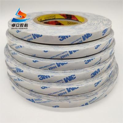 3M9448A双面胶 超薄强力高粘耐高温3m胶带