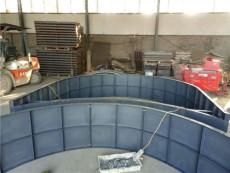 高速拱形護坡模具施工難點及技術提升