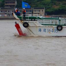 海上航向浮標水上定位浮鼓結構