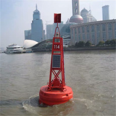 圆锥形塑料浮标1.2米1.5米1.8聚乙烯航标