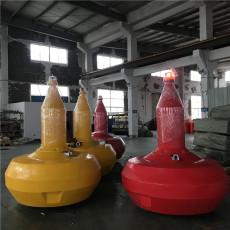 内河聚氨酯实心浮标水库警示拦船浮筒规格
