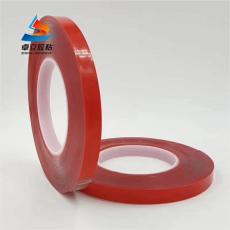 红膜透明亚克力双面胶 强力高粘无痕双面胶