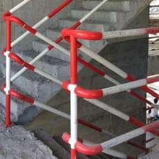 施工楼梯扶手批发A工地建设防护栏立杆厂家