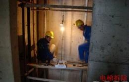 崇安旧电梯拆除回收价格高上海电梯拆除方法