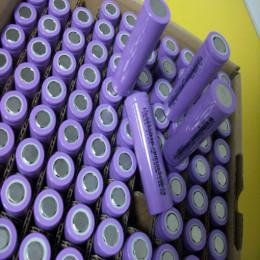 太仓圆柱状锂电池回收 拆机电芯18650回收