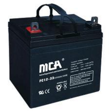 FC12-75免维护MCA铅酸蓄电池12V75AH备用