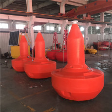 滾塑聚乙烯航標水上施工警示浮標安裝