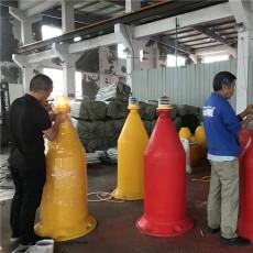 抗風浪禁航浮標橋梁建設塑料浮標型號