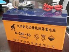 永达蓄电池6-GFM-50 12V50AH风能发电专用