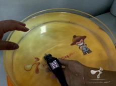 纳米防水智能手表加工