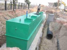 地埋一体化污水处理环保设备达标排放