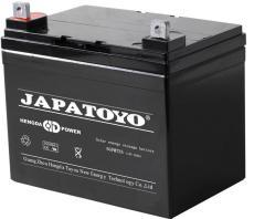 JAPATOYO蓄电池6GFM38 12V38AH储能电源