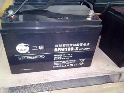 三瑞鉛酸蓄電池6FM230S-X 12V230AH電訊設備