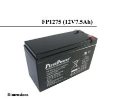 FP1260一电FirstPower蓄电池12V6AH电源出售