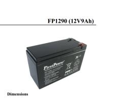FirstPower蓄电池FP1285免维护12V8.5AH基站