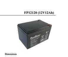FP12180一电FirstPower蓄电池12V18AH通讯