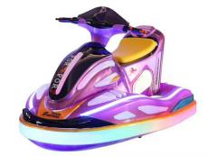 广场上跑的新款摩托艇电瓶碰碰车多少钱一台
