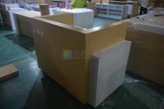 南平中國電信5G體驗桌木質收銀臺體驗桌