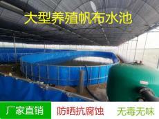 帆布鱼池锦鲤池加厚 定做支架防水池 养鱼池